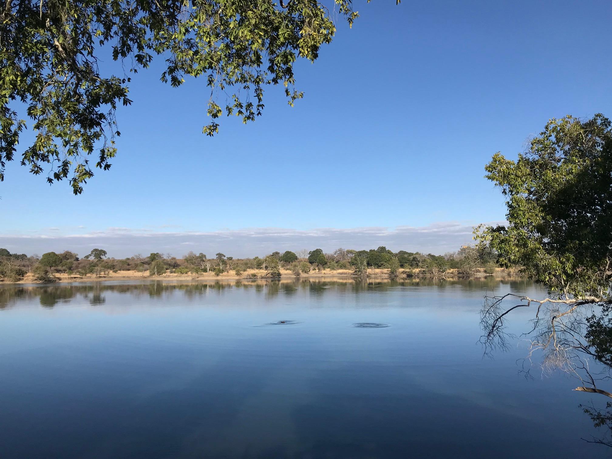 Kafue-joki Sambiassa