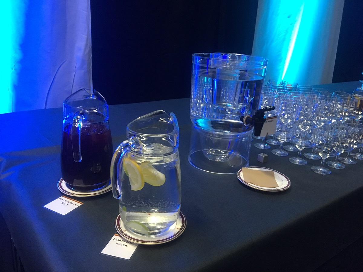 Suomessa järjestettävissä Arktisen neuvoston kokouksissa ovat muovipullot pannassa. Vesi tarjoillaan kannuista. Se on myös mainio tapa kertoa hyvästä suomalaisesta hanavedestä.