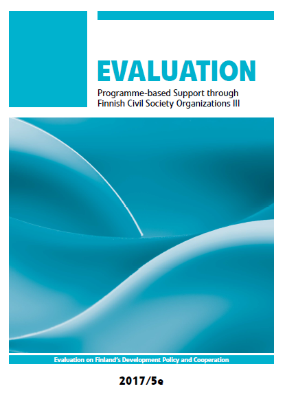 Evaluation of Programme-based Support to CSOs